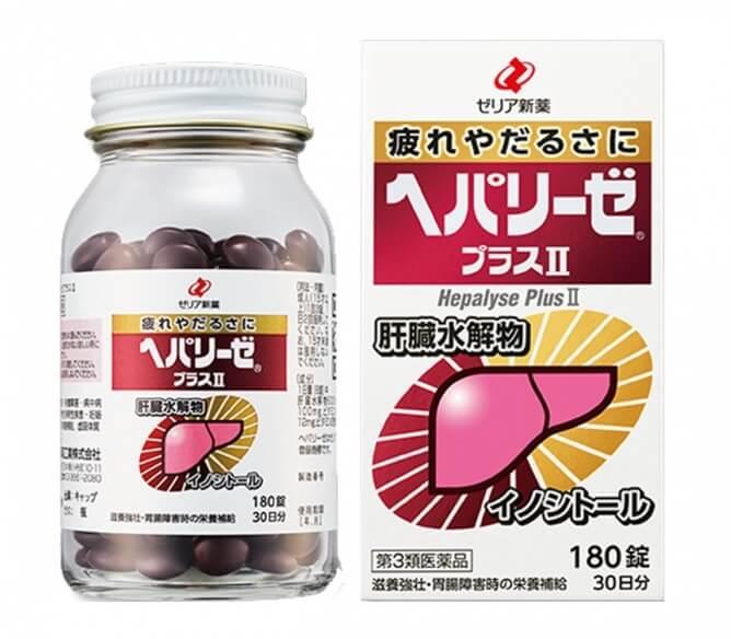 Viên uống bổ gan Orihiro Nhật Bản