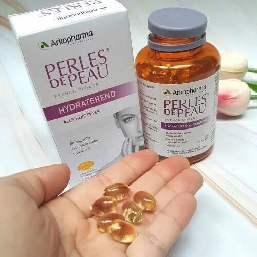 Viên uống chăm sóc và hỗ trợ làm đẹp da Perles de Peau của Pháp