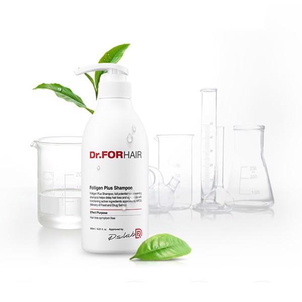 Dầu gội phục hồi Dr.ForHair Folligen Plus Shampoo giảm rụng tóc