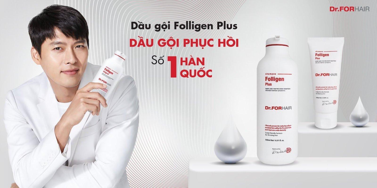 Dầu gội phục hồi Dr.ForHair Folligen được tin dùng tại Hàn Quốc