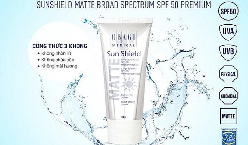 Kem chống nắng chăm sóc da và bảo vệ da chuyên sâu