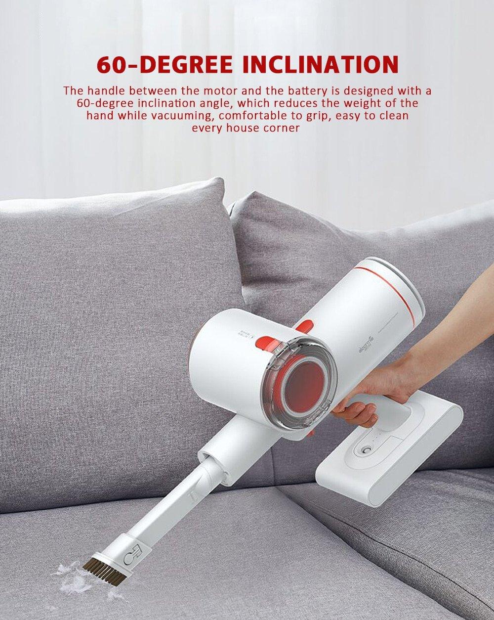 Máy hút bụi Xiaomi Deerma Vacuum Cleaner VC25 hỗ trợ làm sạch tối ưu