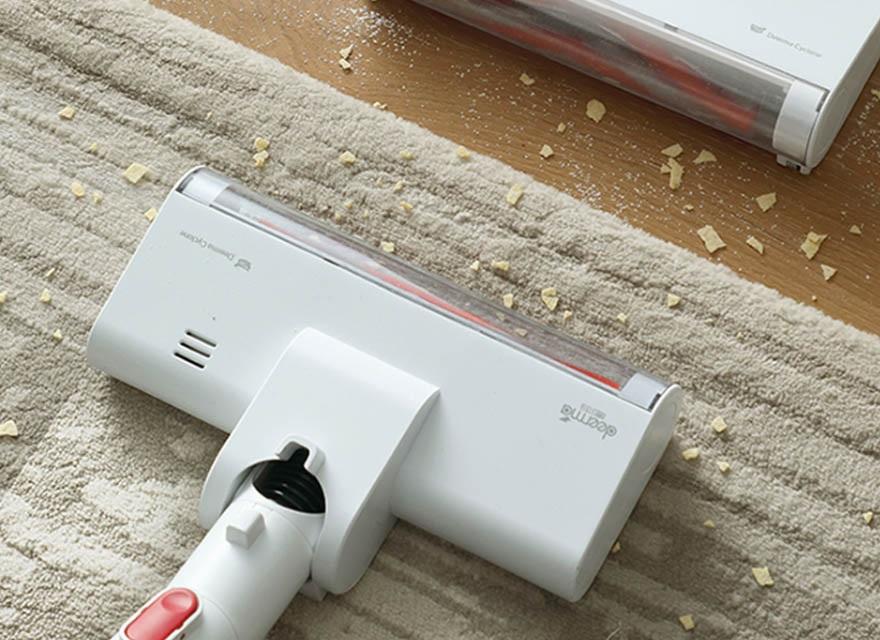 Máy hút bụi Xiaomi  VC20 Plus hỗ trợ hút bụi trên bề mặt thảm