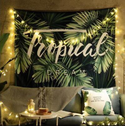 Tranh vải decor hình Tropical Dream