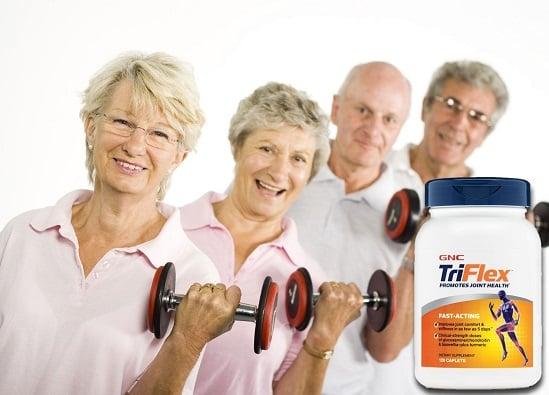 Viên uống GNC Triflex Promotes Joint Health