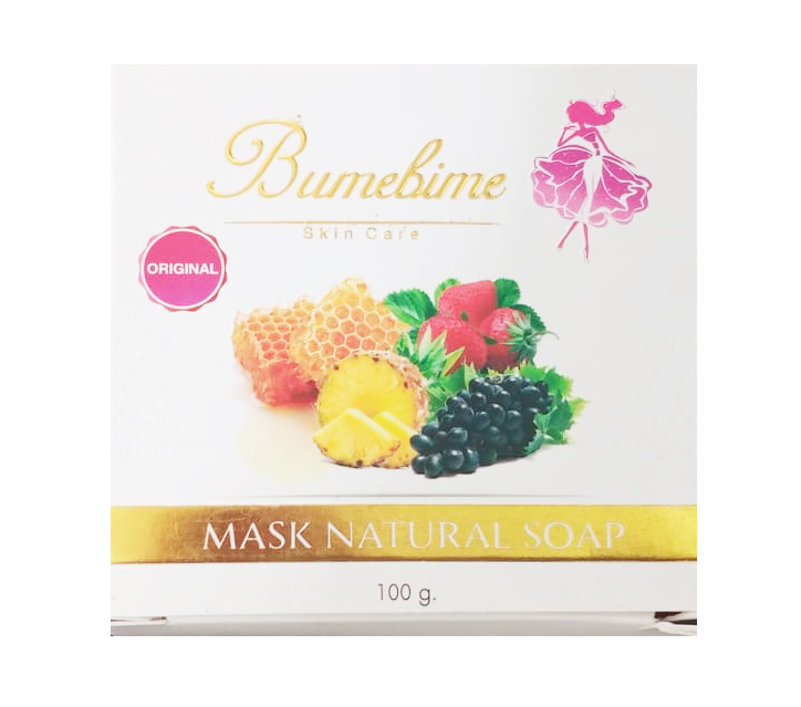 Xà phòng tắm trắng Thái Lan Bumebime Mask Natural Soap 100g