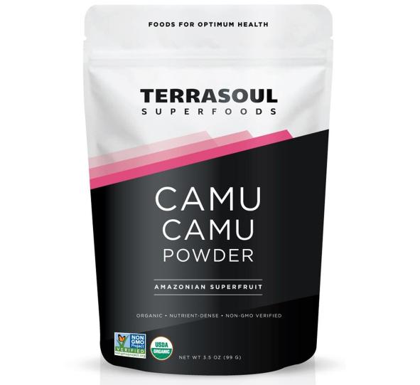 Bột Camu Camu hữu cơ Terrasoul hỗ trợ bổ sung vitamin C, tăng cường đề kháng cho cơ thể