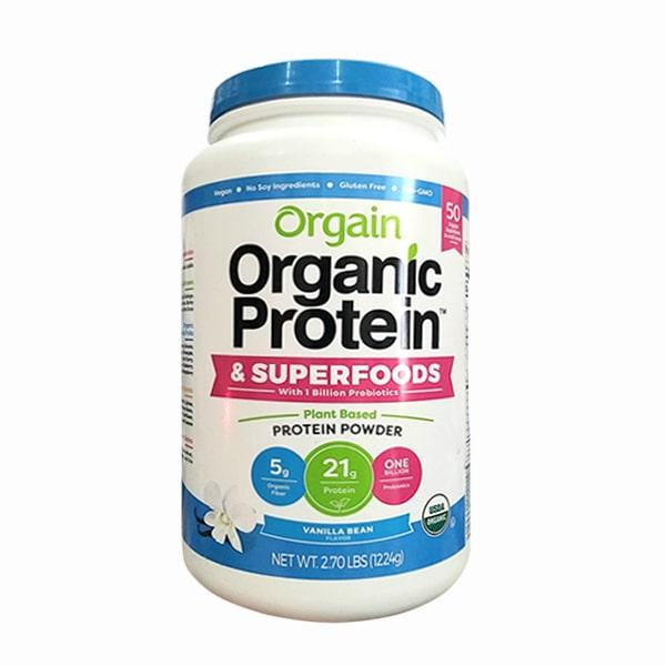 Bột protein hữu cơ Orgain Protein & Superfoods