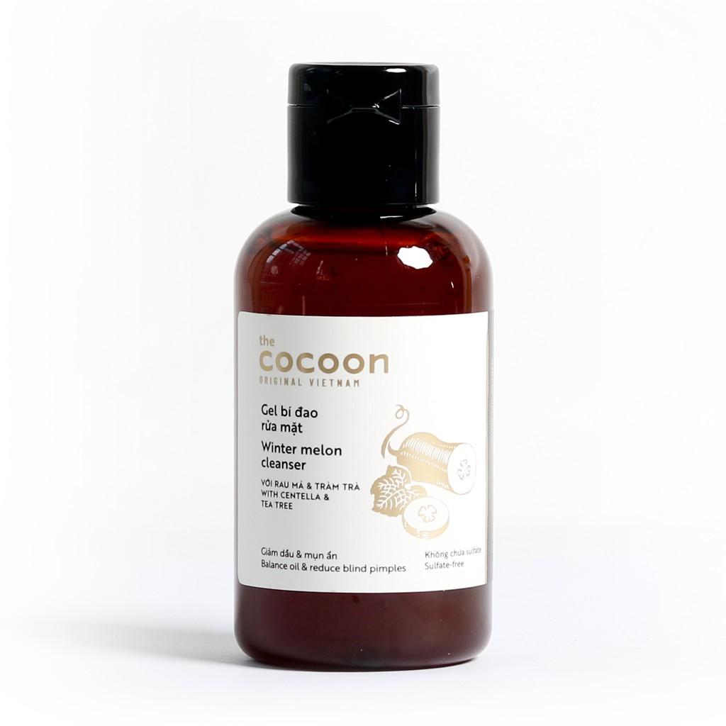 Gel rửa mặt bí đao Cocoon Winter Melon Cleanser