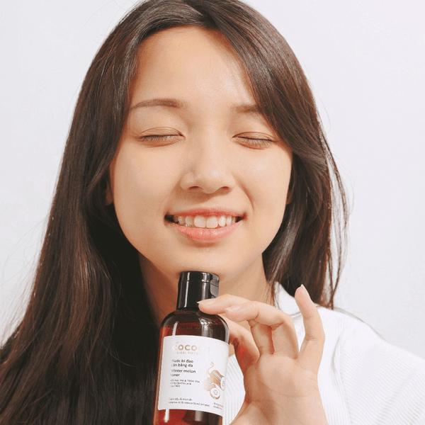 Gel rửa mặt bí đao Cocoon Winter Melon Cleanser hỗ trợ làm sạch da, dịu da