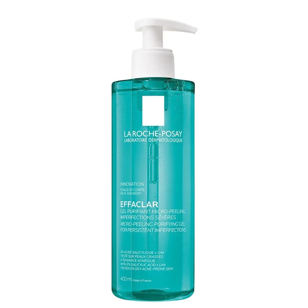 Gel rửa mặt và tắm La Roche Posay Effaclar Micro-Peeling