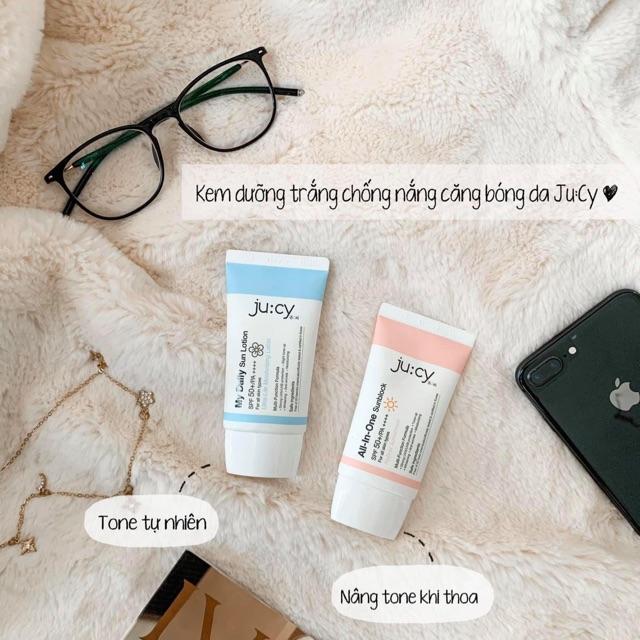 Kem chống nắng Jucy chính hãng Hàn Quốc