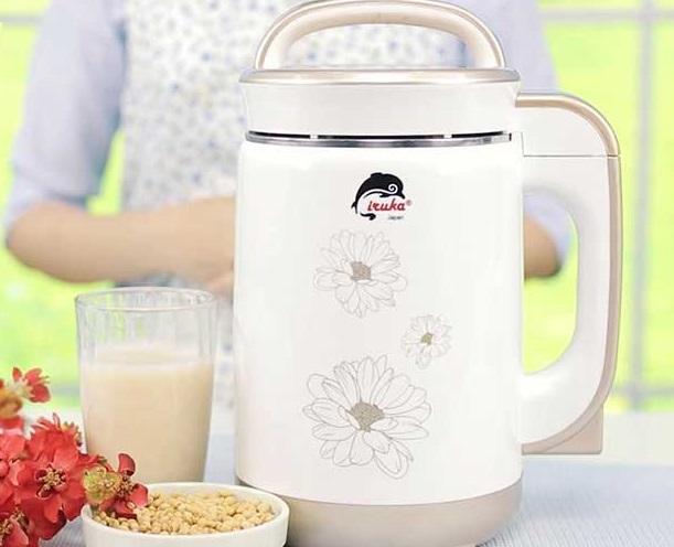 Máy làm sữa đậu nành Iruka I-60 cho hương vị sữa ngon như ý, bảo vệ sức khỏe toàn diện