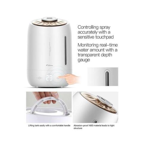 Cấu tạo máy tạo ẩm tiêu chuẩn, dễ dàng sử dụng