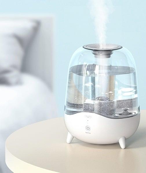 Hiệu quả phun sương tạo ẩm phòng tối ưu