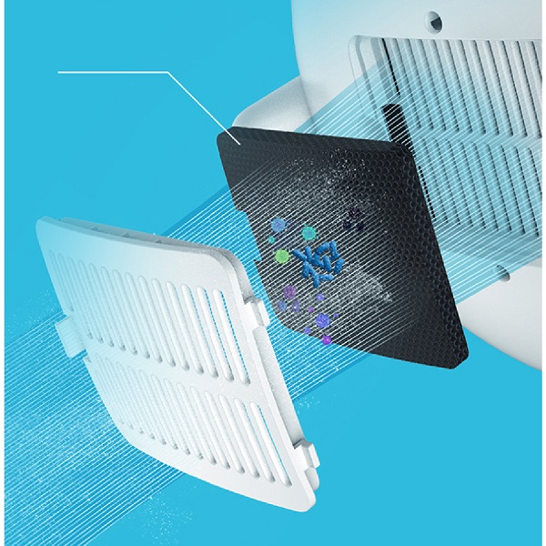 Thiết bị máy tạo ẩm phun sương hỗ tợ lưới lọc thông minh