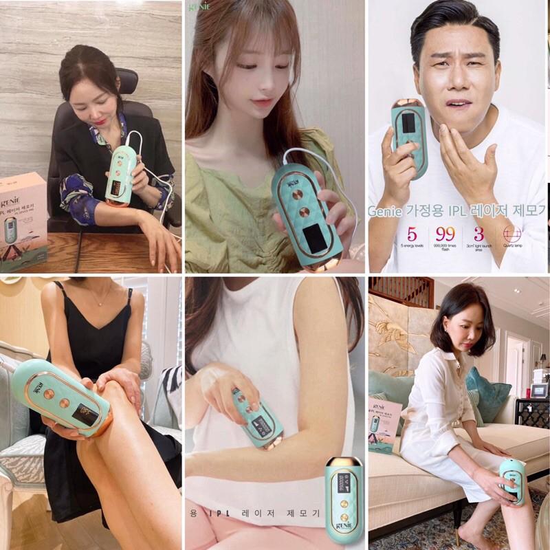 Máy triệt lông Hàn Quốc Genie được tin dùng rộng rãi