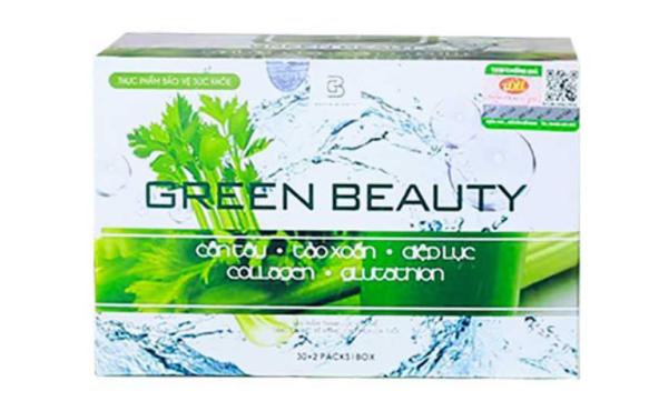 Nước ép cần tây Green Beauty hỗ trợ thải độc, đẹp da