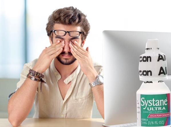 Nước mắt nhân tạo Systane Ultra High Performance hỗ trợ giảm nhức mỏi mắt hiệu quả