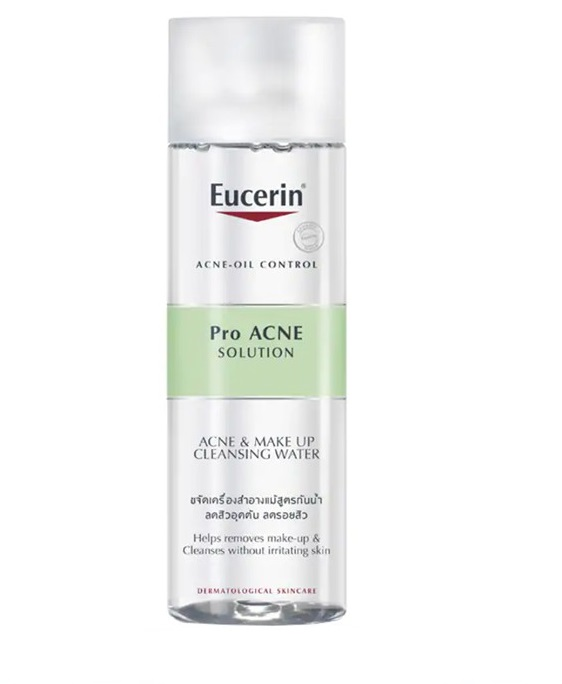 Nước tẩy trang Eucerin Pro Acne Solution Acne & Make-up Cleansing Water
