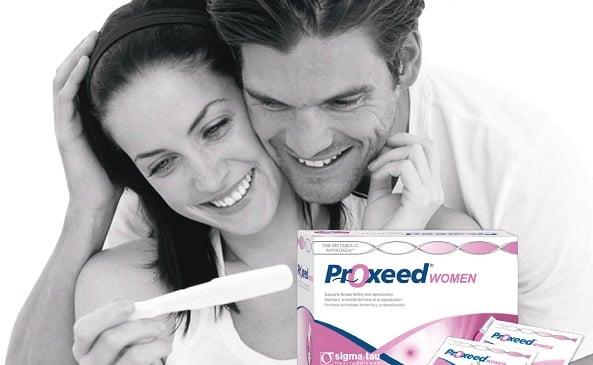Proxeed Women - hiệu quả hỗ trợ thụ thai nhanh