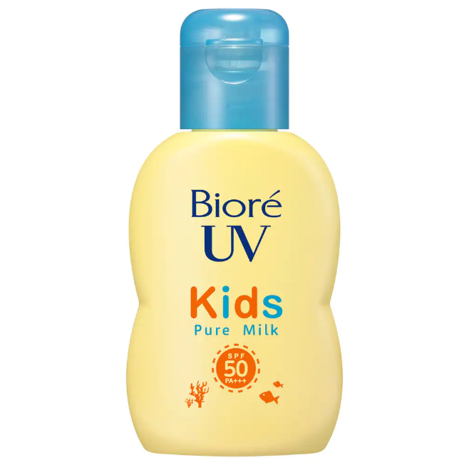Sữa chống nắng cho bé Biore UV Kids Pure Milk SPF50+