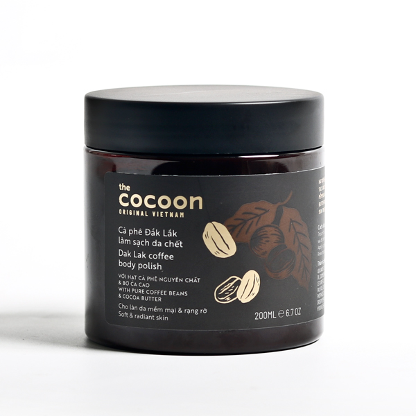Tẩy da chết Cocoon Dak lak coffee body polish