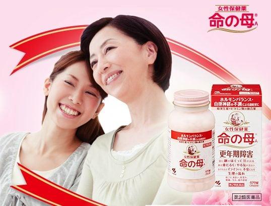 Viên uống Kobayashi cho phụ nữ tiền mãn kinh hỗ trợ chăm sóc sức khỏe nữ hiệu quả