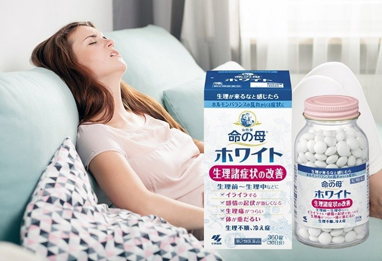 Viên uống điều hòa kinh nguyệt Kobayashi Nhật Bản hỗ trợ giảm đau nhanh