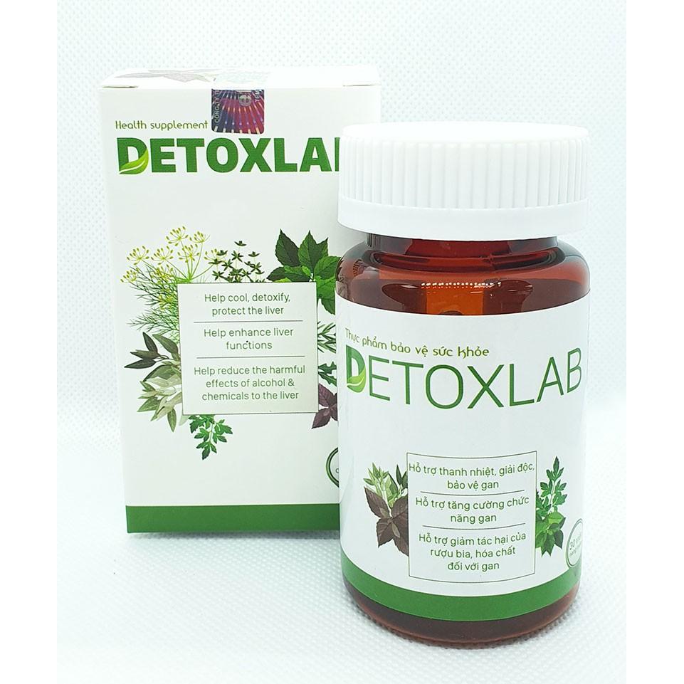 Detoxlab - Viên uống thải độc hỗ trợ tăng cường sức khỏe
