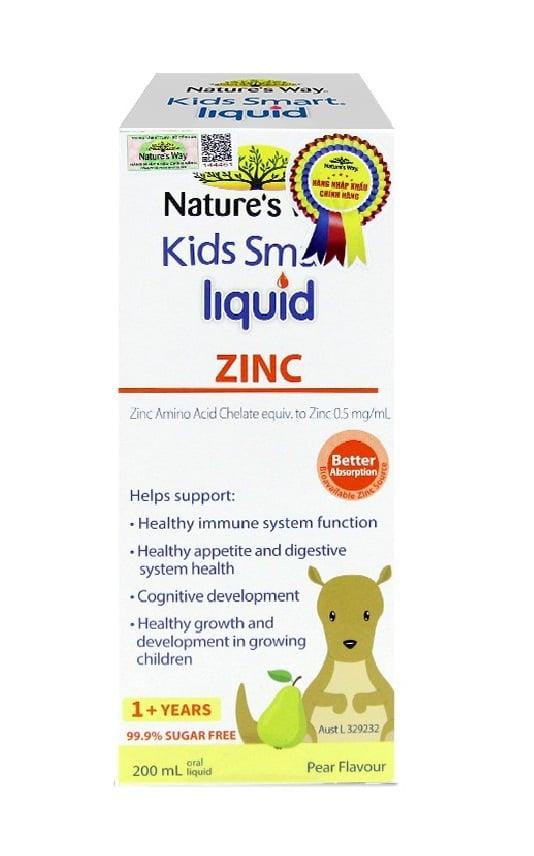 Nature's Way Kids Smart Liquid Zinc