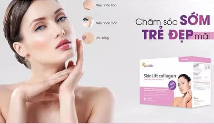 Skinlift Collagen bảo vệ da toàn diện trước thay đổi của thời gian