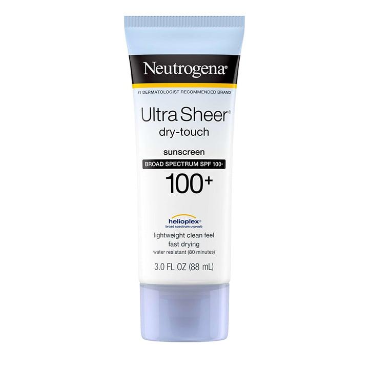 Chất kem của Ultra Sheer Dry touch Neutrogena Broad Spectrum SPF100