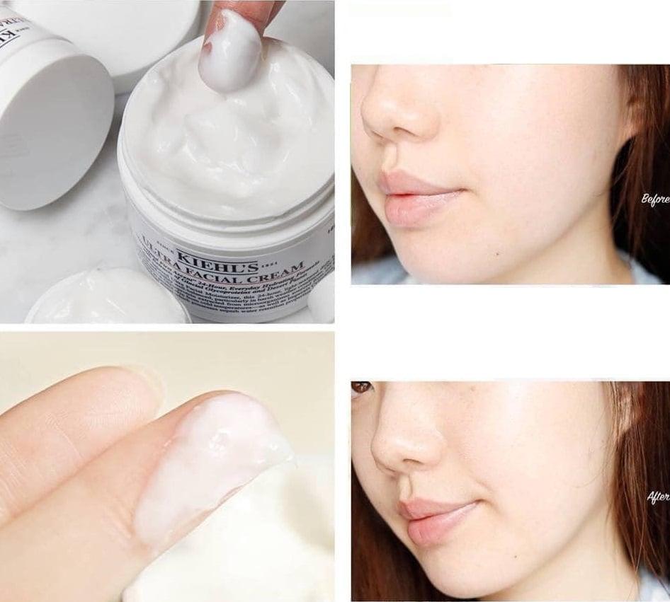Kem dưỡng ẩm Kiehl's Ultra Facial Cream chăm sóc da căng bóng