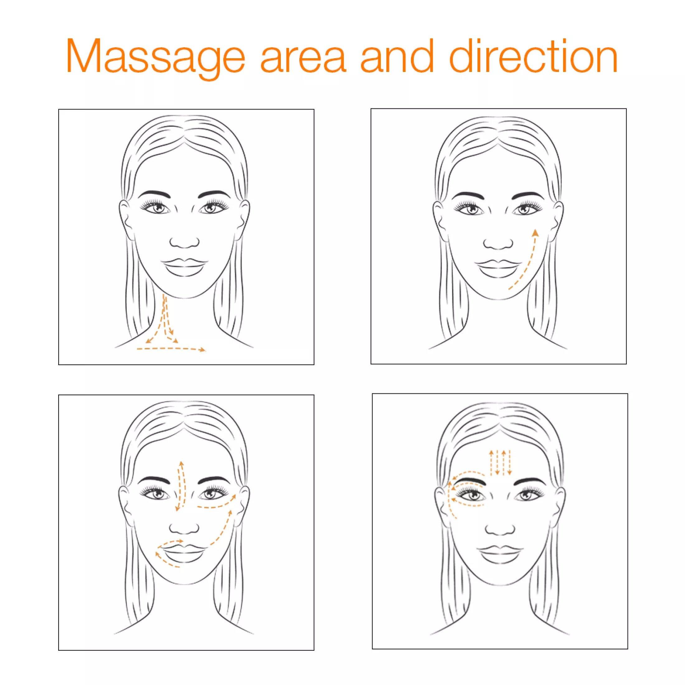 Máy massage mặt Hifu Mini hỗ trợ tác động trên toàn bộ da