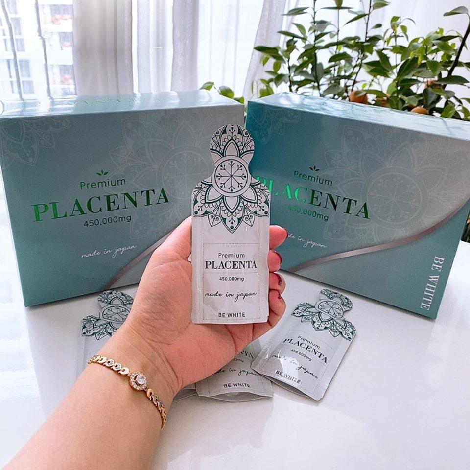 Nước uống nhau thai Premium Placenta 450000mg chăm sóc mềm mại mượt mà