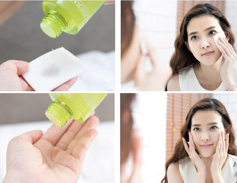Nước hoa hồng Bioderma xanh lá, hỗ trợ cân bằng và chăm sóc da toàn diện