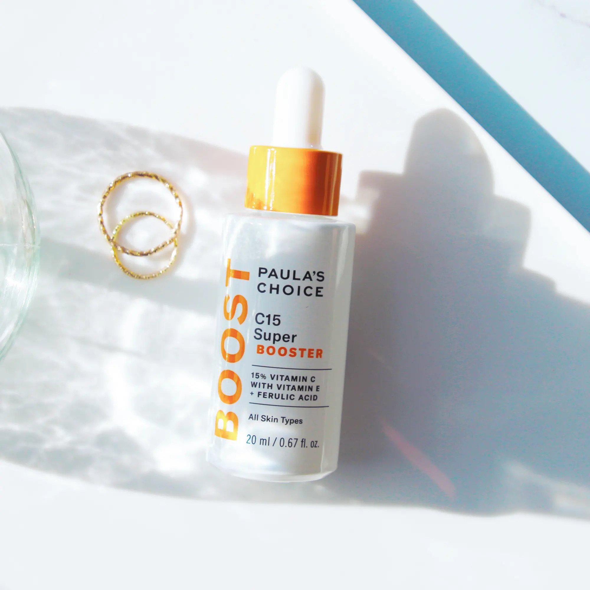 Tinh chất Paula's Choice C15 dưỡng sáng da tự nhiên, bảo vệ da toàn diện