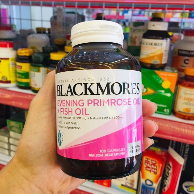 Blackmores Evening Primrose Oil + Fish Oil hỗ trợ sức khỏe và sắc đẹp toàn diện