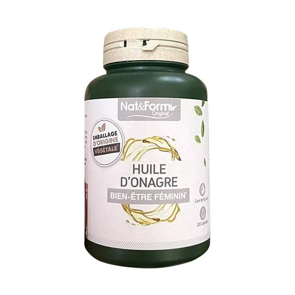 Tinh dầu hoa anh thảo hữu cơ Nat&Form Huile D'Onagre Pháp