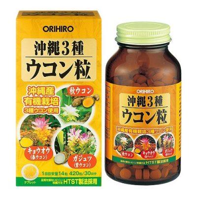 Viên tinh chất nghệ 3 mùa Orihiro Okinawa Nhật Bản
