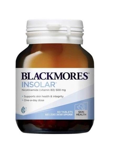Viên uống đẹp da Blackmores Insolar High Dose