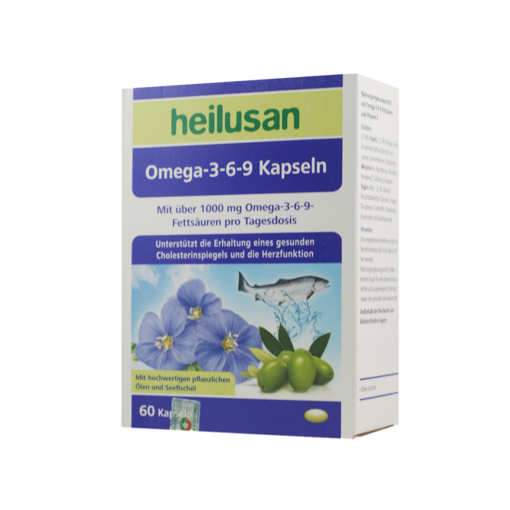 Viên uống Heilusan Omega-3-6-9 Kapseln