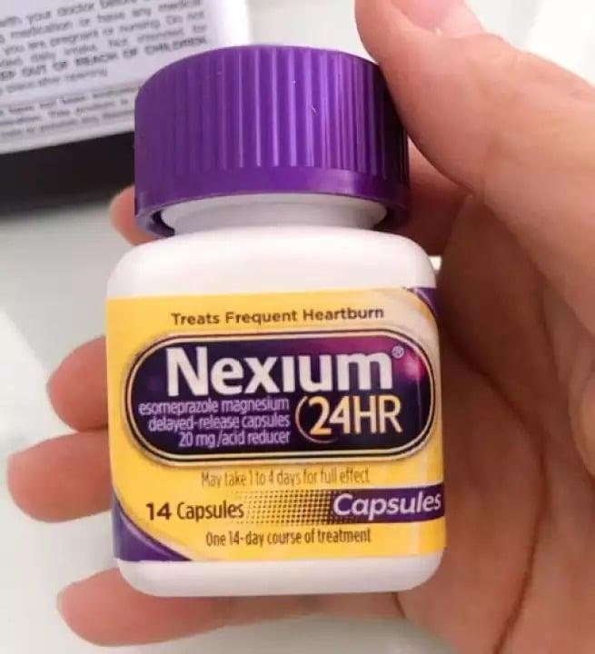 Viên uống Nexium 24hr 20mg chăm sóc sức khỏe toàn diện