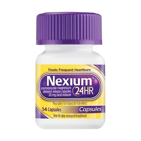 Viên uống Nexium 24hr 20mg hỗ trợ dạ dày