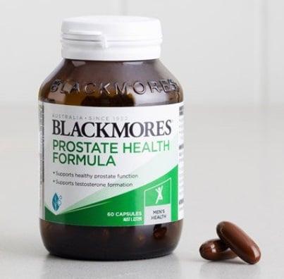 Viên uống Blackmores Prostate Health Formula cải thiện sức khỏe tiền liệt tuyến