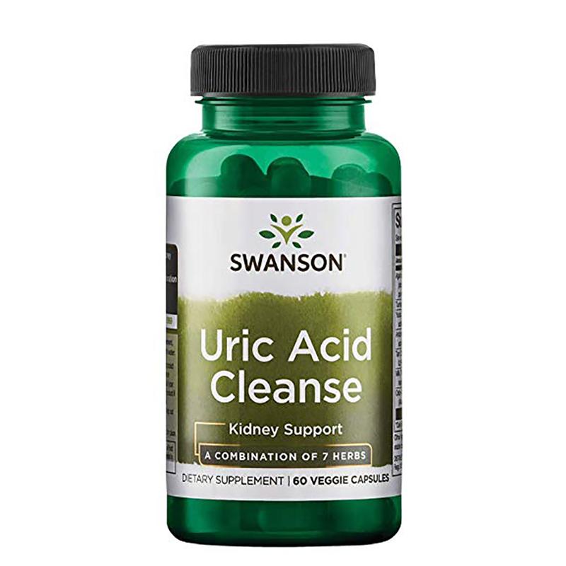 Viên uống Swanson Uric Acid Cleanse từ Mỹ