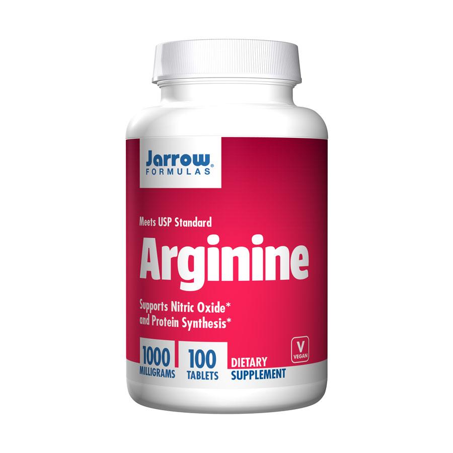 Viên uống thanh lọc, giải độc gan Jarrow Arginine 1000mg