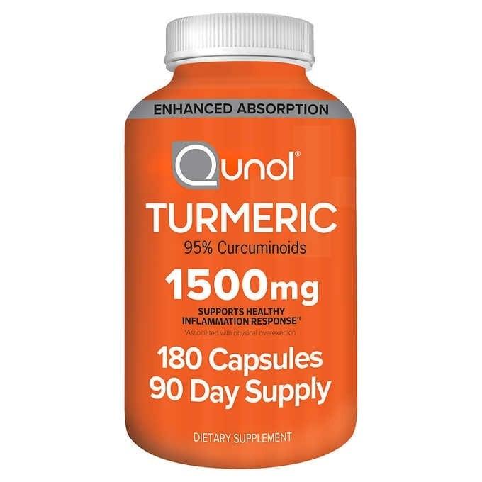 Viên uống tinh chất nghệ Qunol Turmeric 1500mg 180 viên