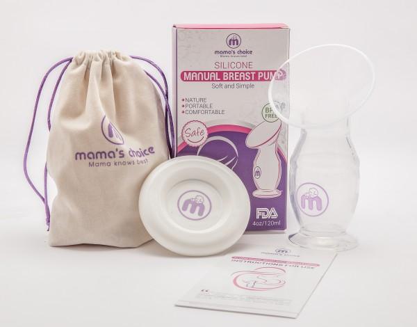 Bộ cốc hứng sữa Silicone Mama's Choice hàng chuẩn